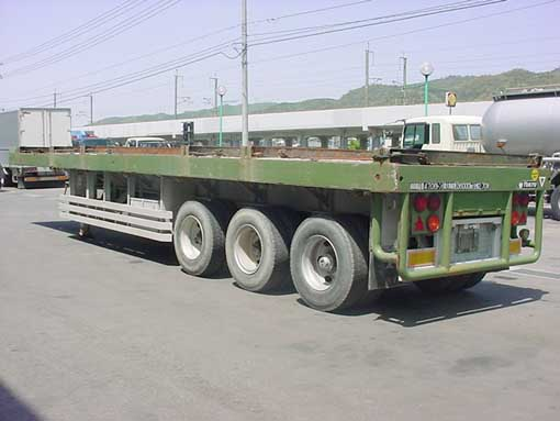 12 wheeler High Bed trailer