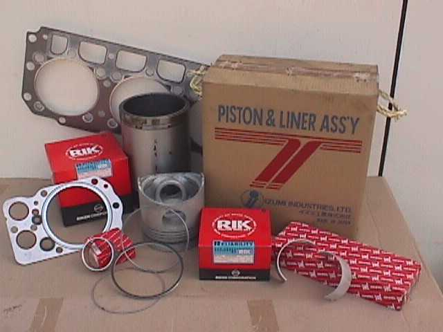 Liner Kit set, Piston & Ring Set, Liner,Overhaul Gasket Kits,Engine Bearing For Nissan,Mitsubishi,Hino,Isuzu From 2 tons up to 20 tons truck & industrial engine parts etc...